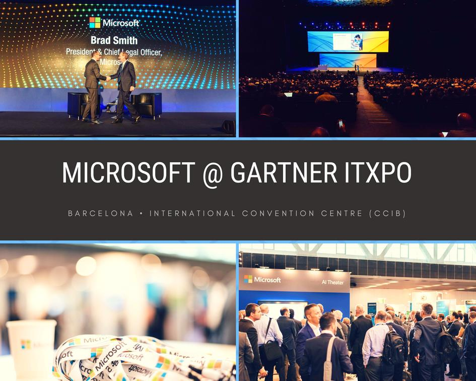 Photographer in Barcelona, Microsoft at Gartner ITXpo