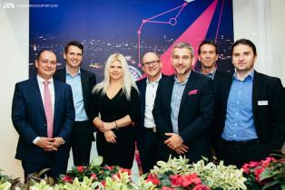 Group shot for Deutsche Telekom's executives at Smart City Expo