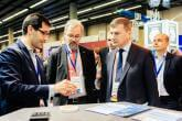 EU Commissioner Andrus Ansip visits MWC Graphene Flagship
